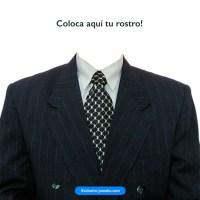 Coloca tu rostro en un traje para crear tu imagen de presentación