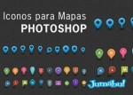 puntos de ubicacion google maps - Elementos para Mapas en Photoshop