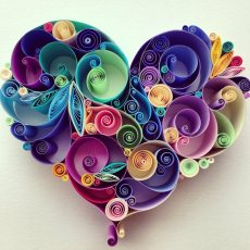 quilling-paper-corazon