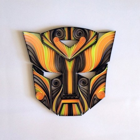 quilling paper transformers - Arte con Papel - Quilling Paper