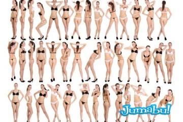 siluetas femeninas en ropa interior - Imágenes de Figuras Femeninas en Distintas Poses