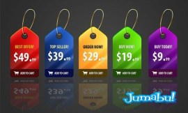 tags precios - Etiquetas o Tags Promocionales en Photoshop
