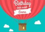 tarjeta de cumpleanos para bebes - Invitación de Cumpleaños para Niños