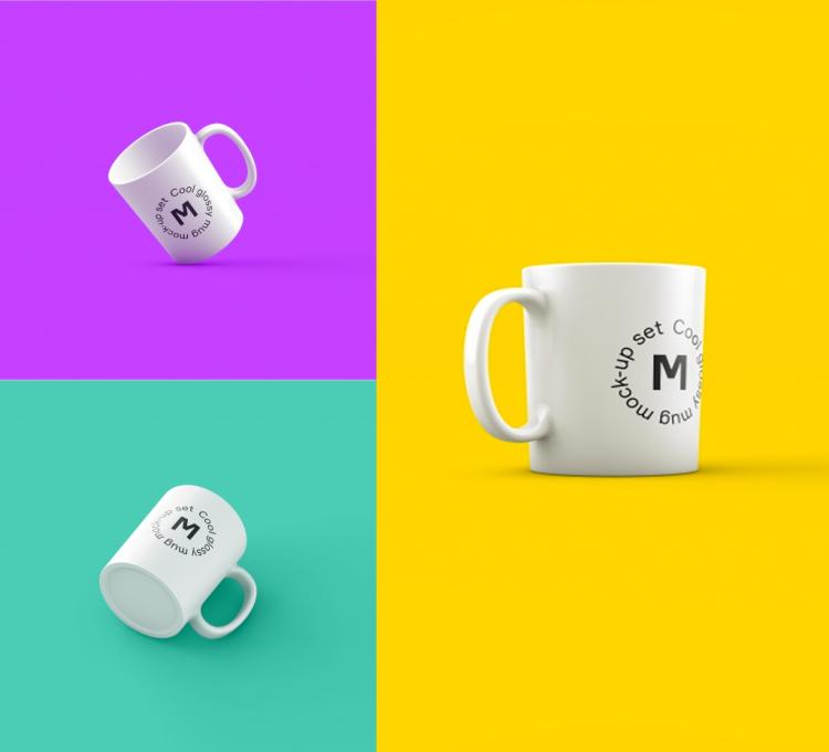 Tazas de café para poner tu logo con photoshop | Jumabu