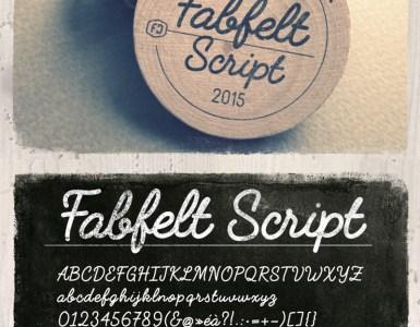 tipografia gratuita script - Fabfelt script - tipografía gratuita!