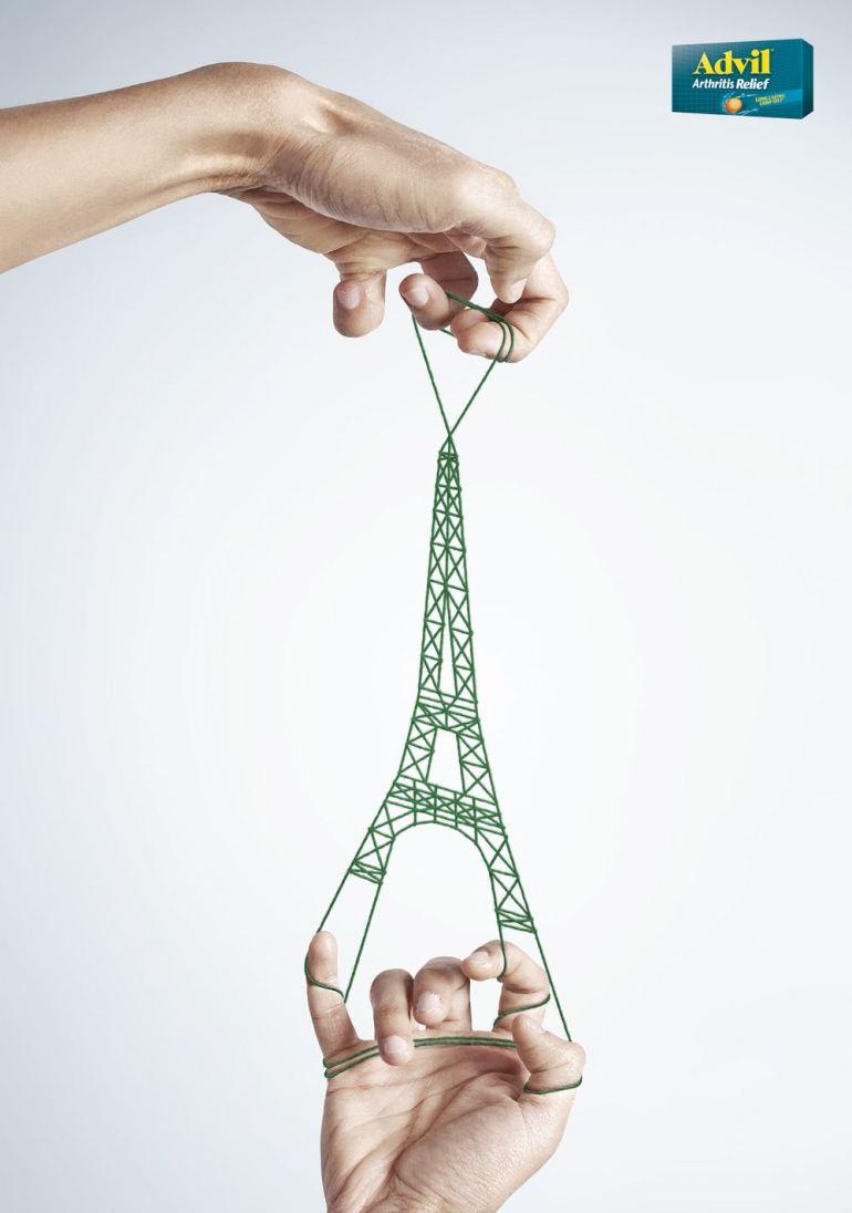 torre eiffel 3d - Los mejores desarrollos en 3D de Pierre Bourjo