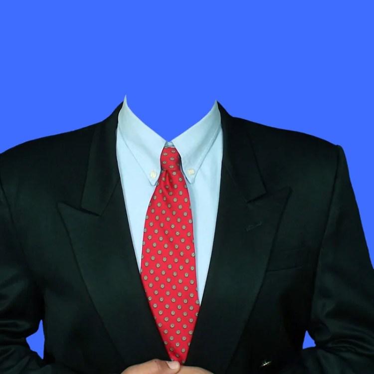 traje de caballero para colocar tu rostro con photoshop