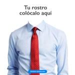 traje para curriculum - Plantilla para poner una camisa y corbata a tu curriculum vitae