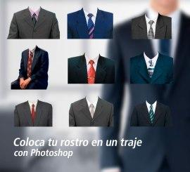 trajes foto 4x4 photoshop - Imágenes de trajes para tu foto carnet