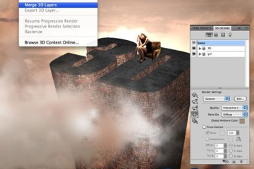tutorial photoshop 3d - ¿Cómo se trabaja con 3D en Photoshop? - Tutorial