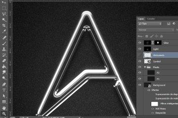 tutorial photoshop vidrio cromado - Tutorial Photoshop - Efecto Cromado