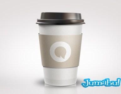 vaso termino cafe psd - Vaso Térmico de Café en PSD