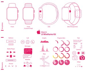 vectores apple watch - Vectores del Apple Watch