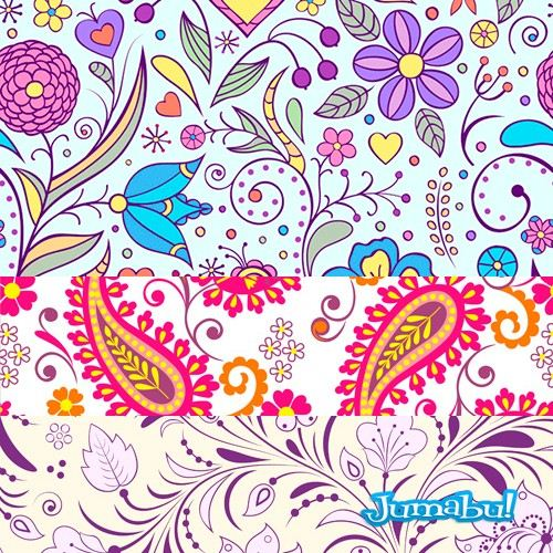 ornamentos-flores-arabescos