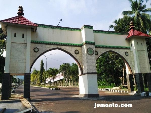 Lokasi Gerbang Islamic Center Kota Agung Tanggamus Lampung