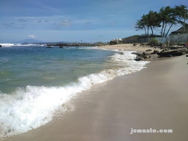pasir putih pantai ketang