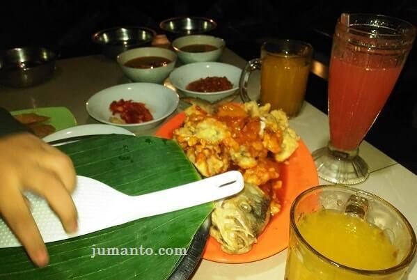 menu makanan pindang riu lampung