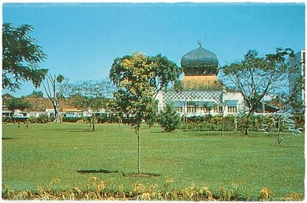 foto masjid agung bandung 1955-1970