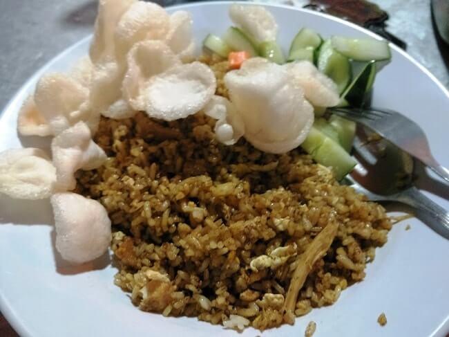 foto nasi goreng enak di bandar lampung