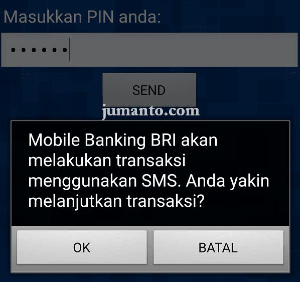 cara cek saldo atm bri via mobile banking
