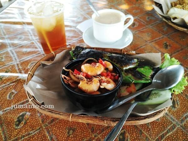 menu makanan di sabin resto and coffee metro lampung