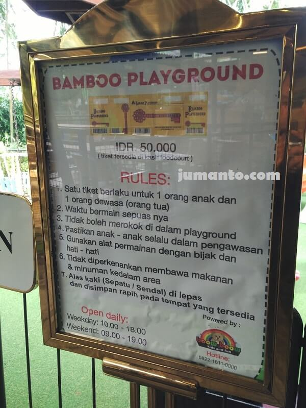 bamboo playground dusun bambu lembang bandung