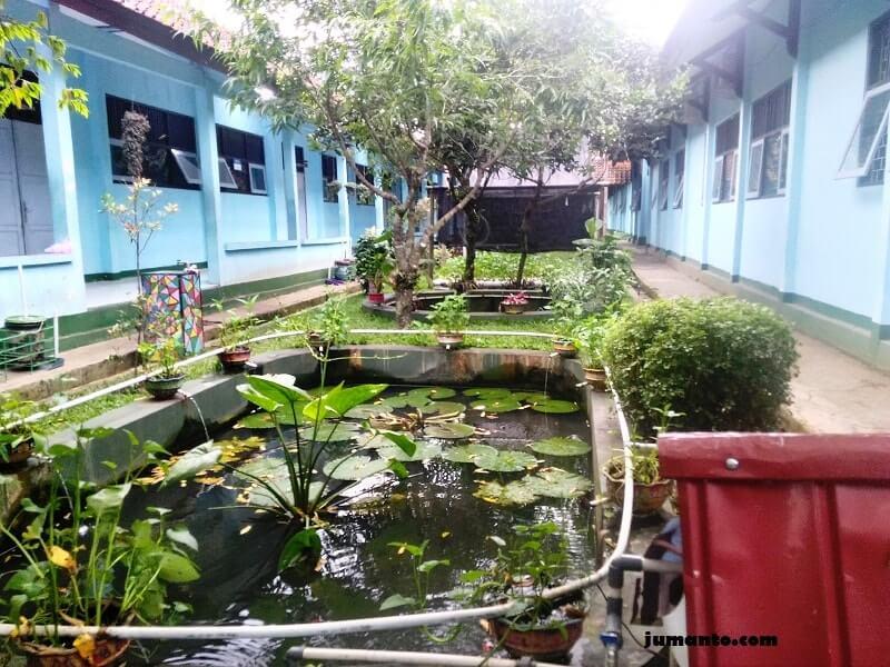 kolam ikan sma 2 purbalingga