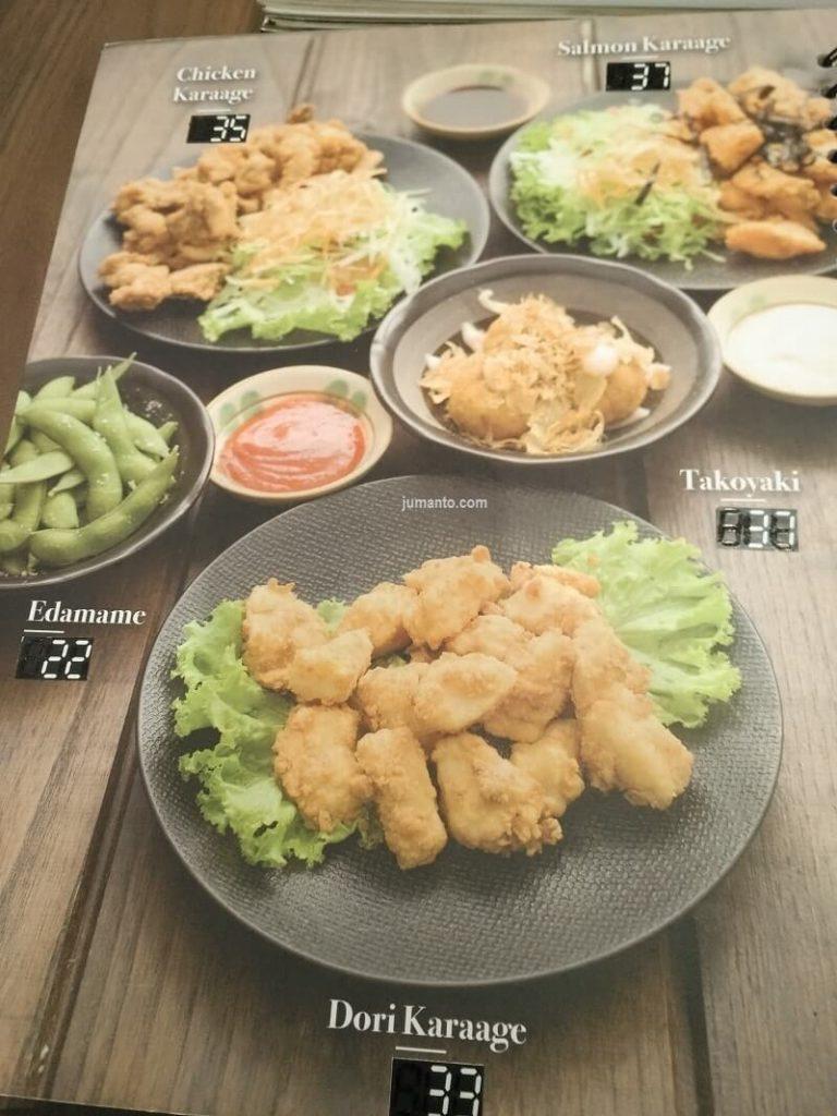Menu Makanan Jepang di Transmart Carrefour Lampung