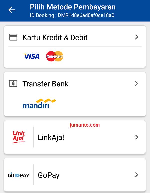 Cara Bayar Tiket Damri Online Menggunakan LinkAja Dan GoPay