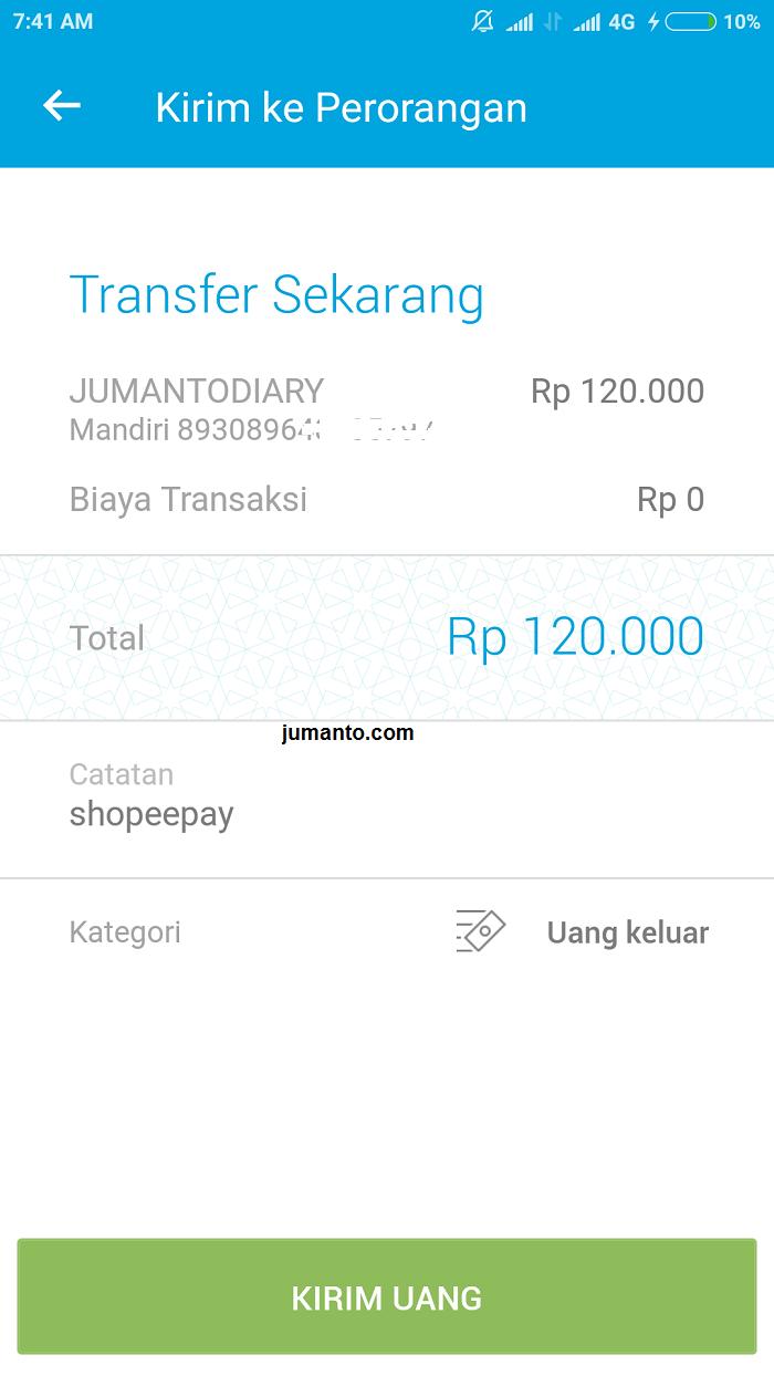 Cara Transfer Ke Shopeepay Dari Jenius Dan Ovo [Rekening Bank]