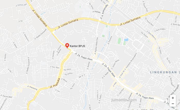 Kantor Bpjs Bandar Lampung Ada Di Mana Ini Alamat Dan Lokasinya