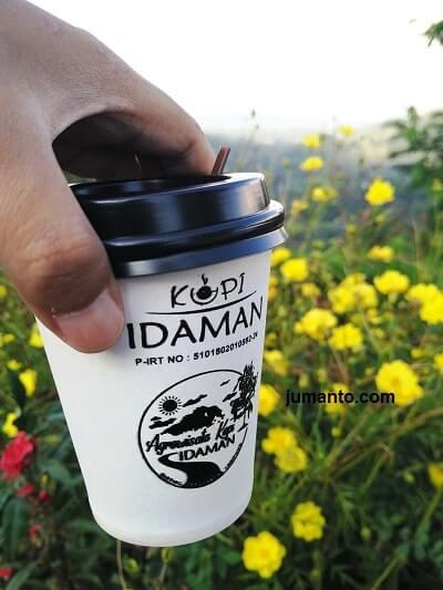 kopi gratis di bukit idaman lampung