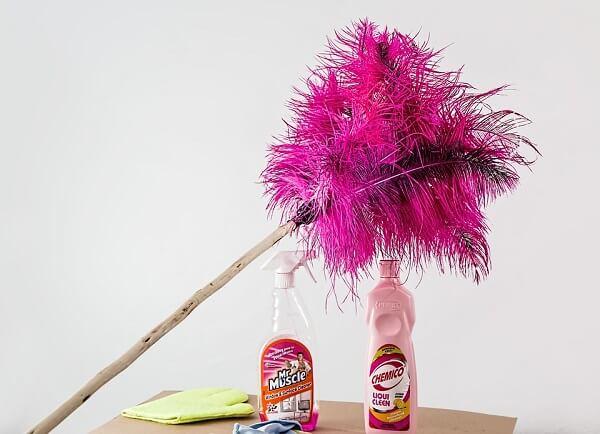 kerjasama membersihkan rumah