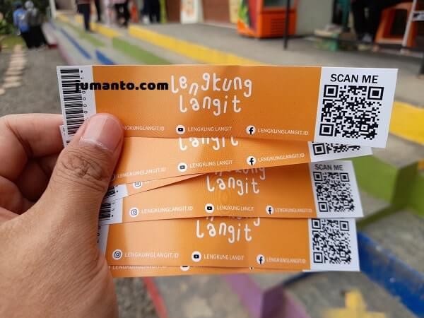 harga tiket masuk lengkung langit lampung