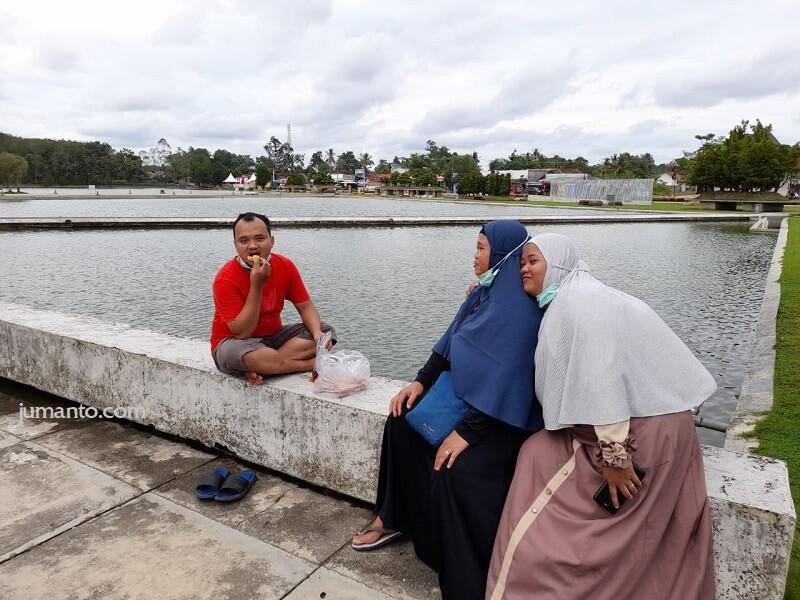 pengalaman ke islamic center tulang bawang barat lampung