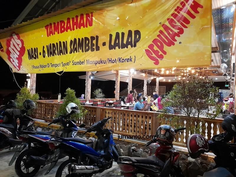 Menu Gurame Bakar Mantap Di Manpuku Resto Bandar Lampung