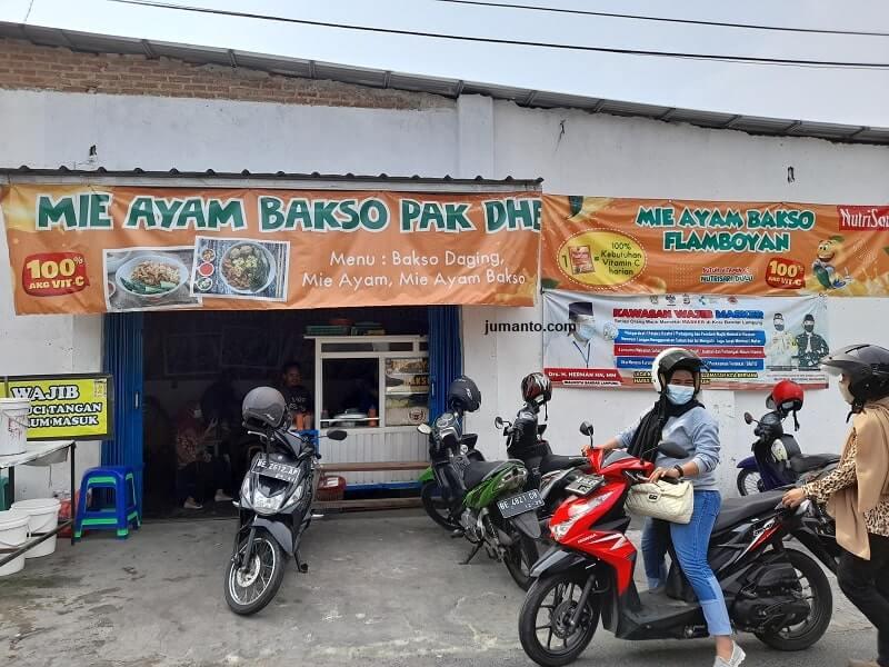 Mie Ayam Flamboyan Bandar Lampung Yang Enak Dan Ramai Banget