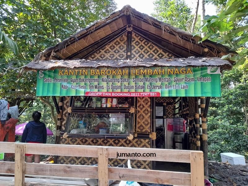 fasilitas tempat makan di lembah naga kedaung bandar lampung