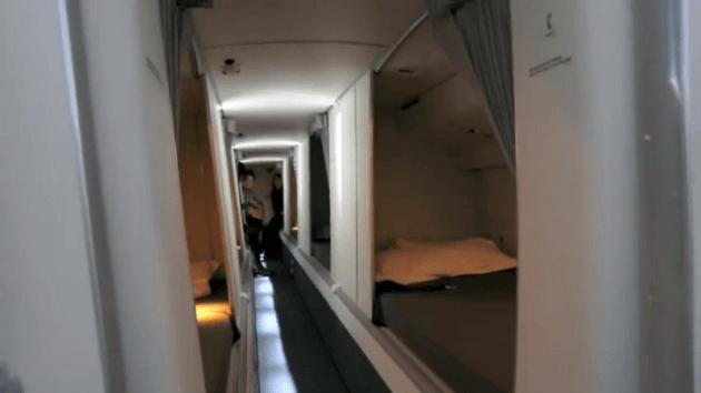 kamar di dalam pesawat