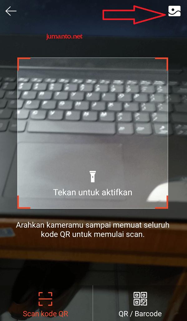 cara menggunakan scan qr code shopeepay