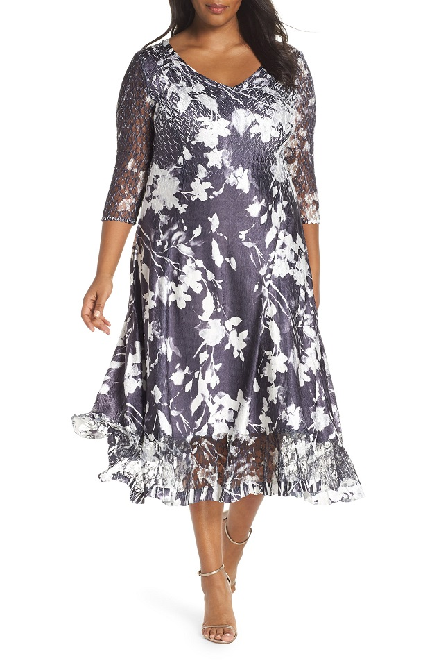 Long Sleeve Plus Size Church Dresses |Plus Size Sheer or ...