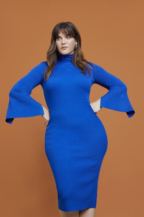 Plus Size Turtleneck Sweater Dress | Women\'s Plus Size ...