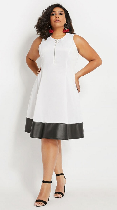 White Dresses for Plus Size Women In The Perfect Style -