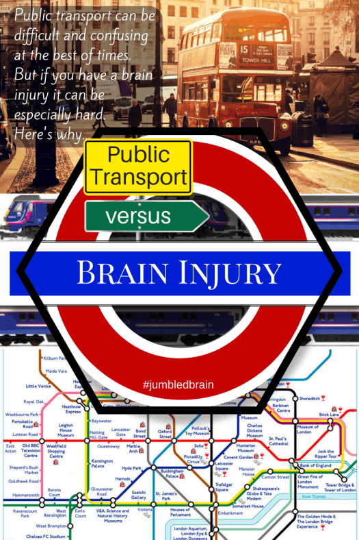 Public transport can be difficult and confusing at the best of times. But if you have a brain injury it can be especially hard. Here's why...