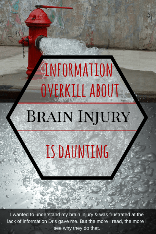 My blog on Living with brain injury: I kept reading up on brain injury, but now I'm even more frightened.