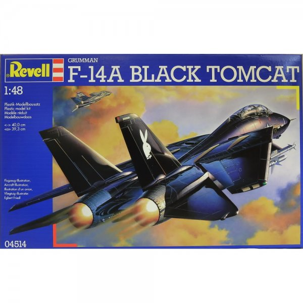 Revell F 14a Black Tomcat 1 48 Scale Kit Revell From