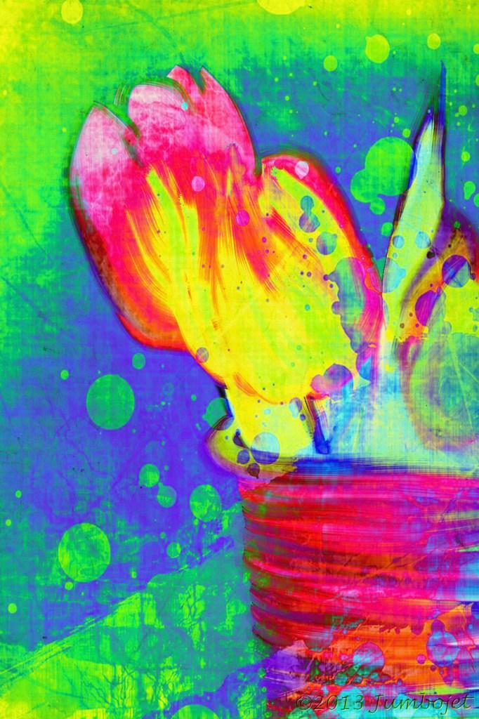 Artistieke tulpen