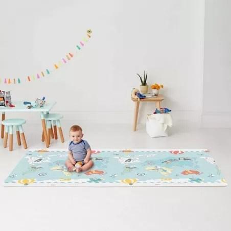 tapis de jeu geant reversible jumeaux petit voyageur skip hop