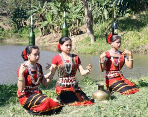 Performance of Tripura girls