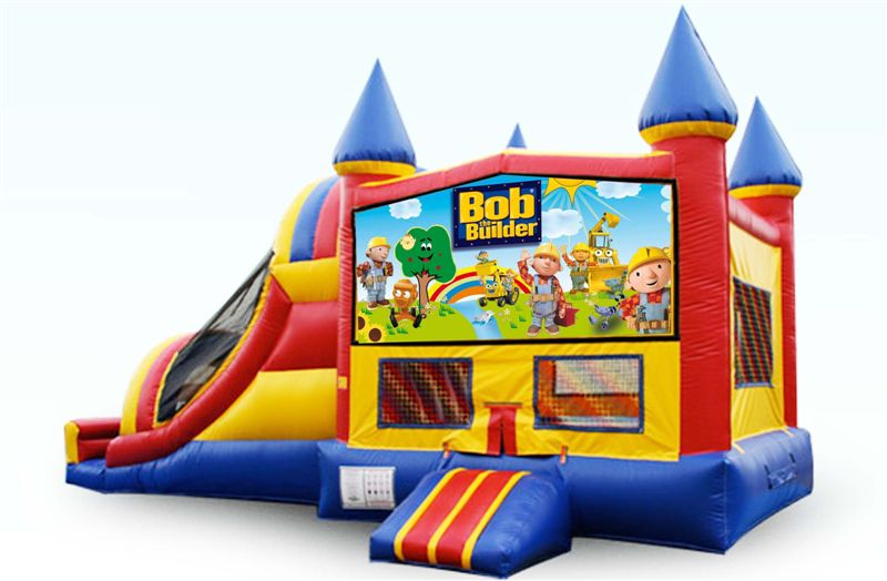 Inflatable Castle Slide Combo Jumper Combos All Star